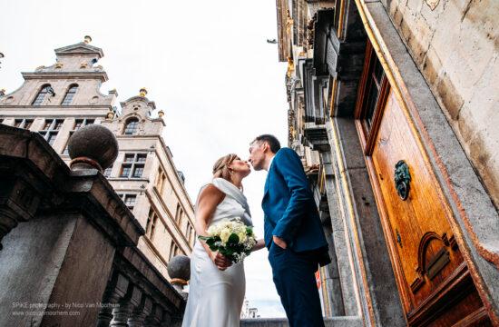 Fotograaf Nico Van Moorhem koppel huwelijk